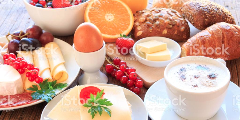 ontbijt bij leto